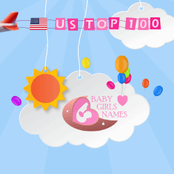 US Girl Names Top 100