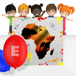 African girls names beginning with E