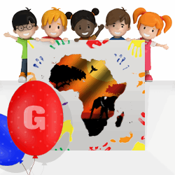 African girls names beginning with G