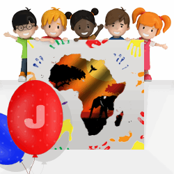 African girls names beginning with J