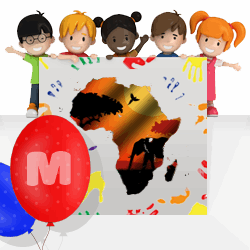 African girls names beginning with M
