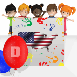 American girls names beginning with D