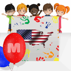 American girls names beginning with M