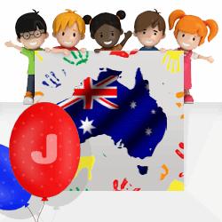 Australian girls names beginning with J