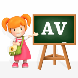 Girls names beginning with AV