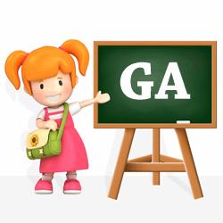 Girls names beginning with GA