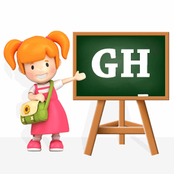 Girls names beginning with GH