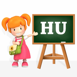 Girls names beginning with HU