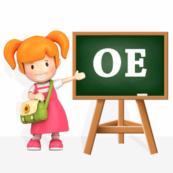 Girls names beginning with OE