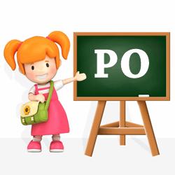 Initials - PO
