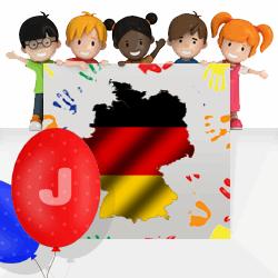 German girls names beginning with J