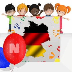 German girls names beginning with N