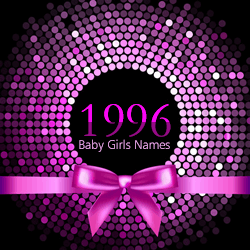 The top 100 baby girls names from 1996.